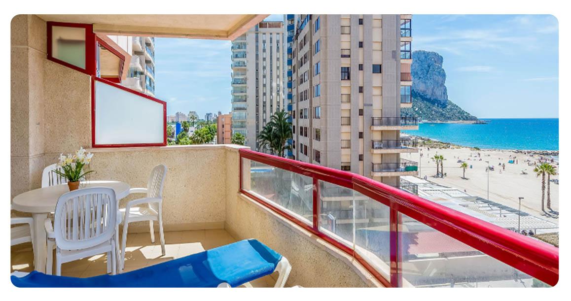 acheter appartement jolie calpe terrasse