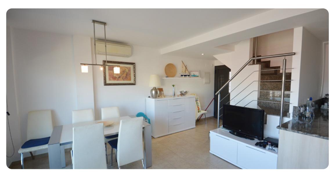 acheter appartement la escala plage de riells salon 2