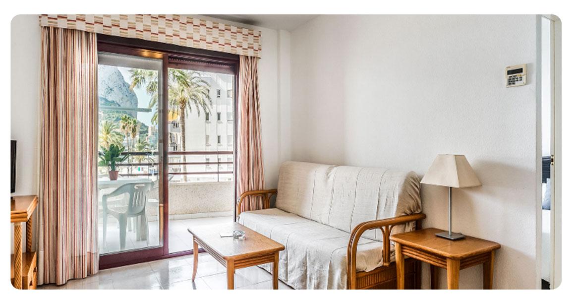 acheter appartement magnifique calpe salon