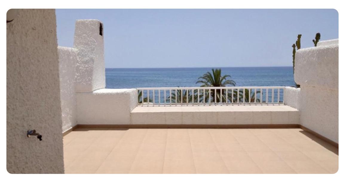acheter appartement roquetas vue mer terrasse