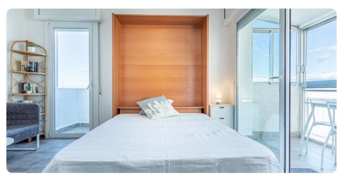 acheter appartement studio roses empuriabrava chambre