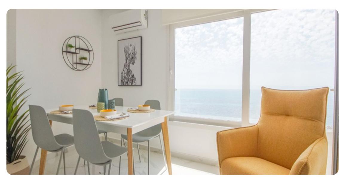 acheter appartement torrevieja pied de plage salle a manger