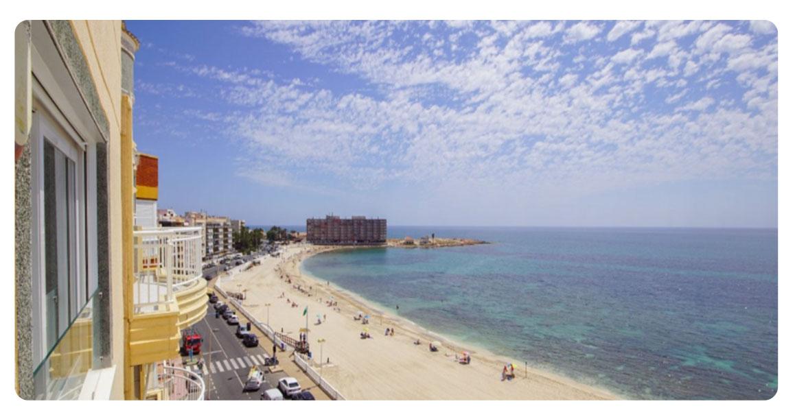 acheter appartement torrevieja pied de plage vue