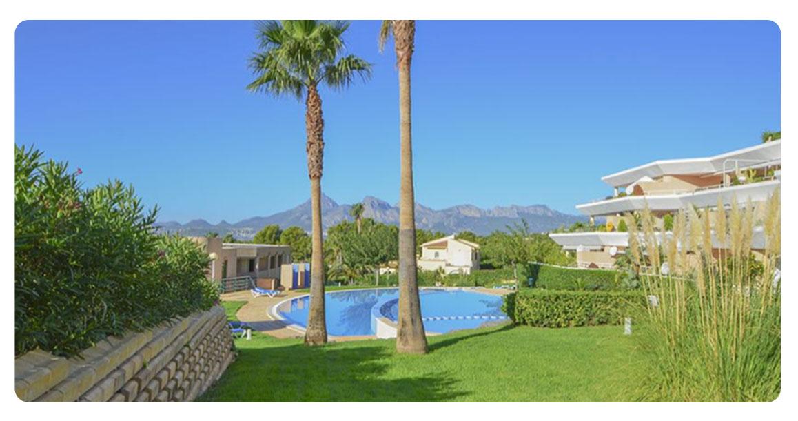 acheter bel appartement altea piscine jardin