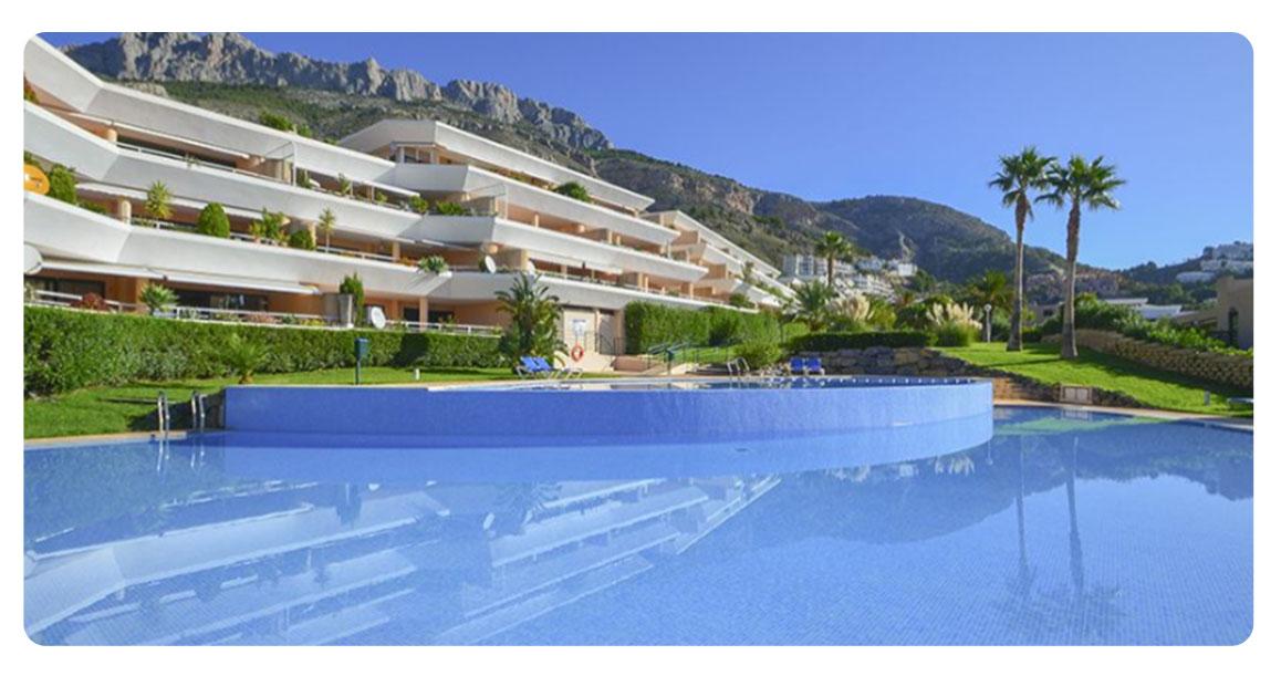 acheter bel appartement altea piscine