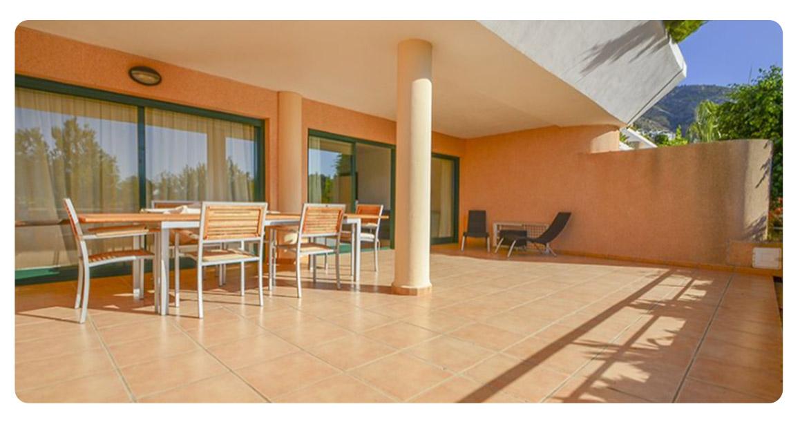 acheter bel appartement altea terrasse