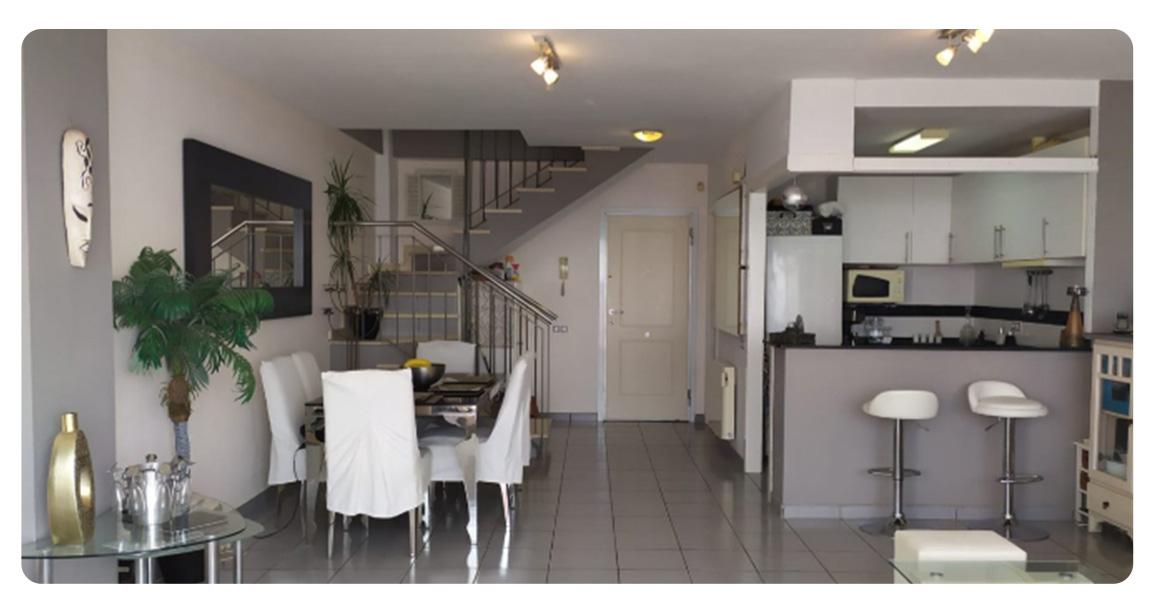 acheter duplex appartement benidorm salle a manger