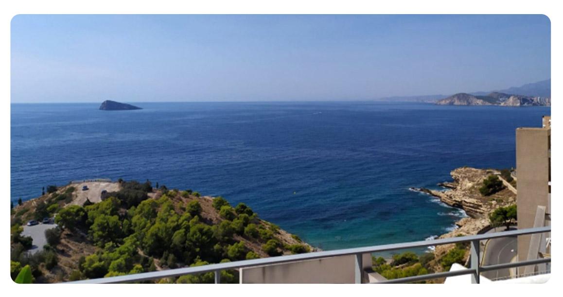 acheter duplex appartement benidorm terrasse vue