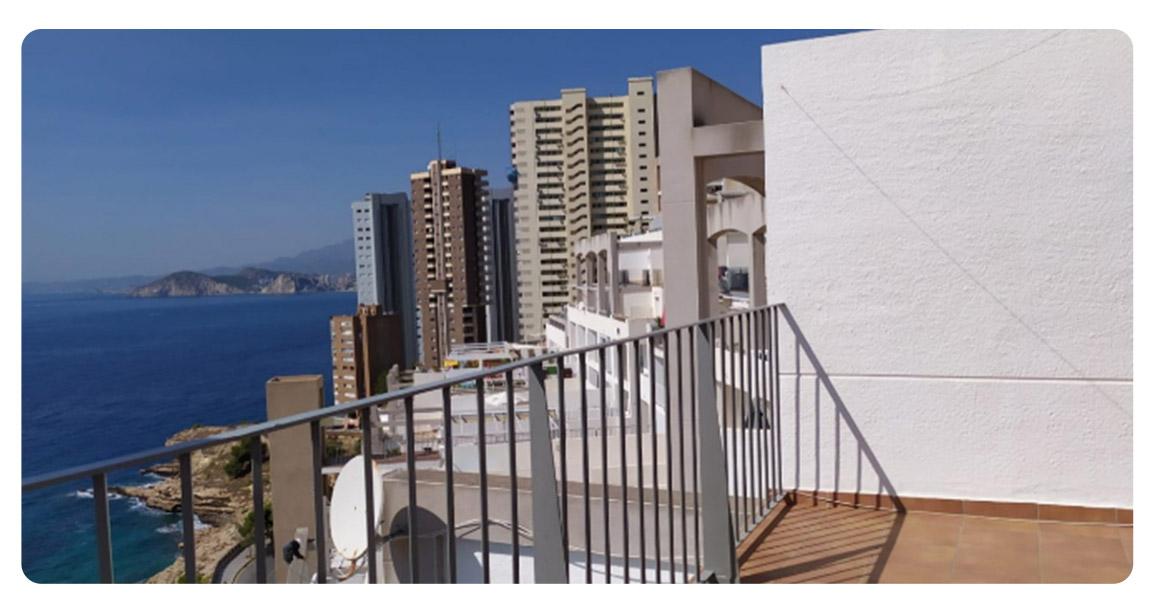 acheter duplex appartement benidorm terrasse