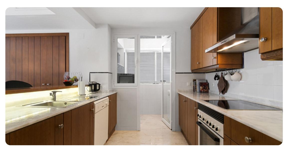 acheter grand appartement torrevieja cuisine