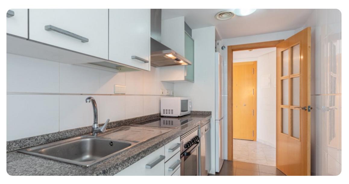 acheter jolie appartement benidorm cuisine