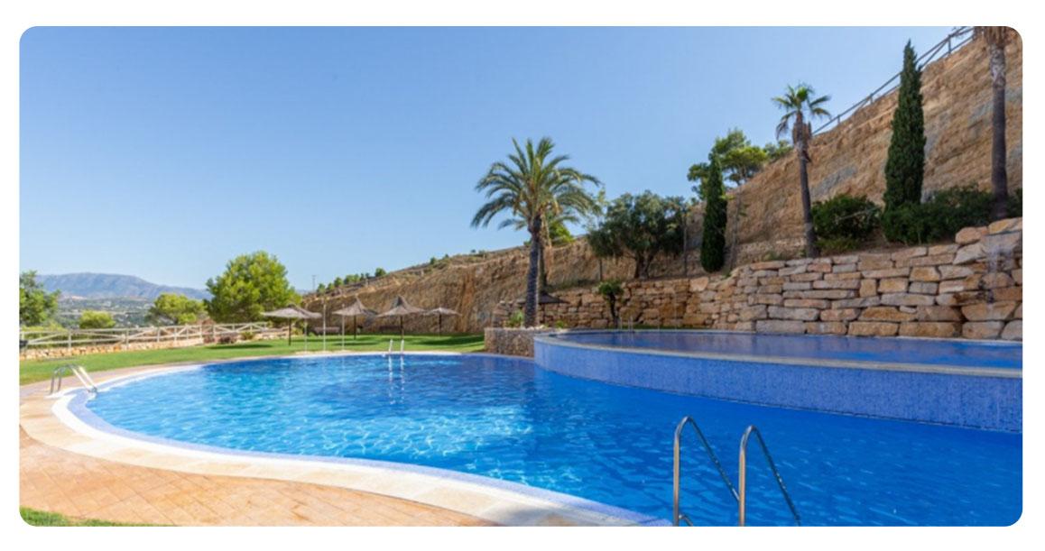 acheter jolie appartement benidorm piscine