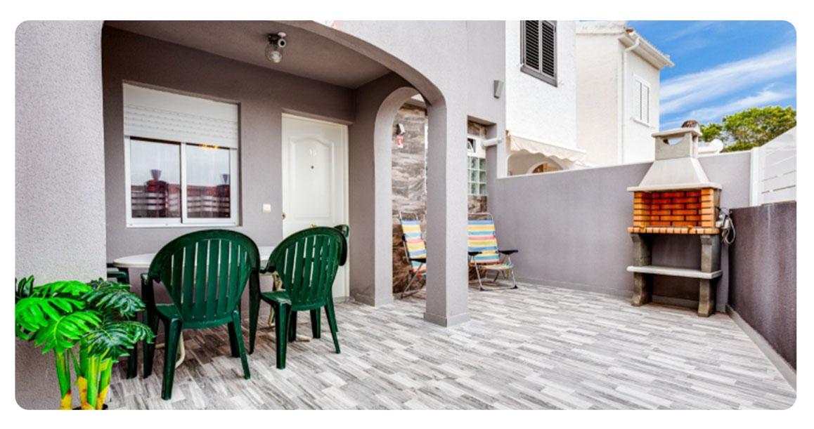 acheter jolie maison mitoyenne torrevieja terrasse