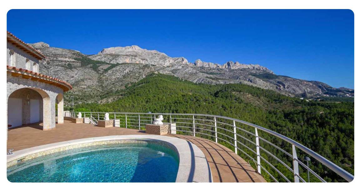 acheter maison altea piscine vue