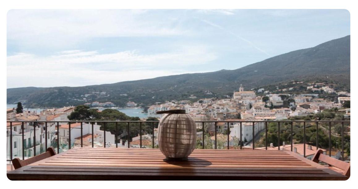 acheter maison cadaques terrasse vue