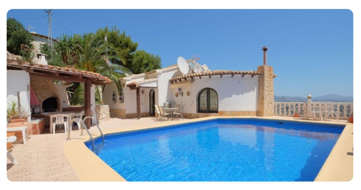 acheter maison calpe port piscine 2