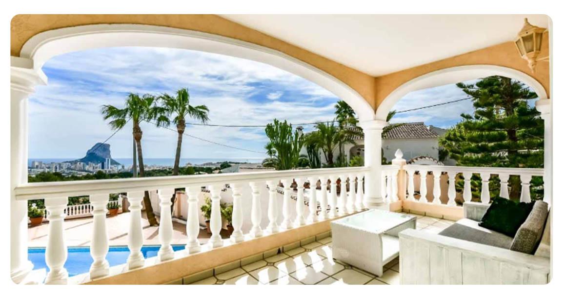 acheter maison calpe terrasse 2