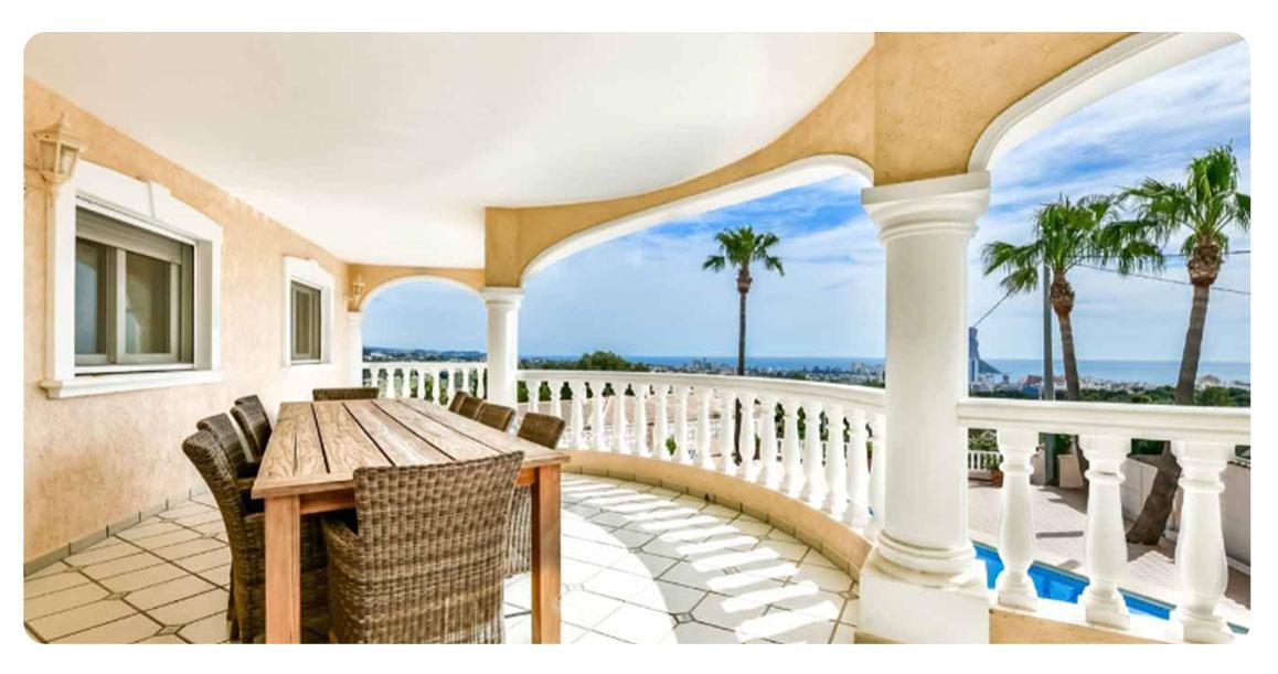 acheter maison calpe terrasse