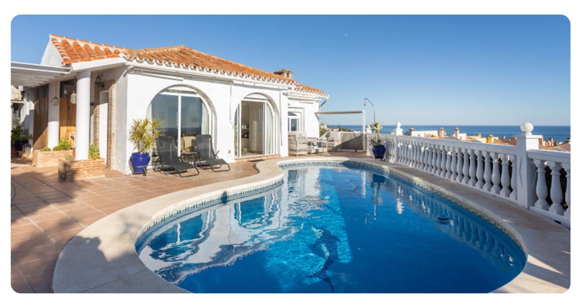 acheter maison fuengirola vue mer piscine