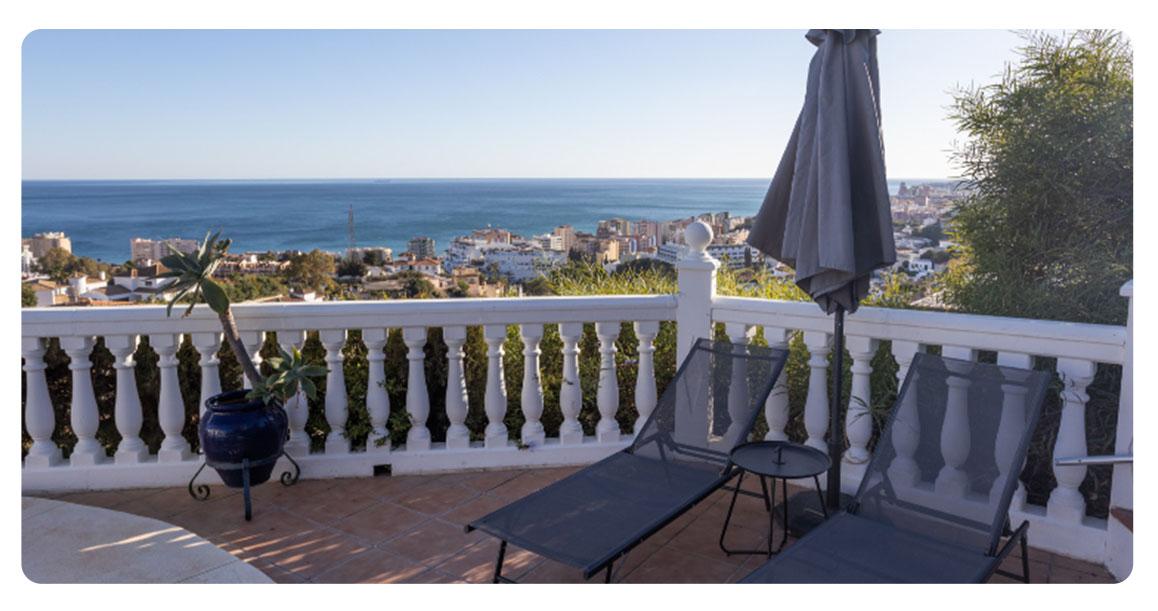 acheter maison fuengirola vue mer terrasse vue