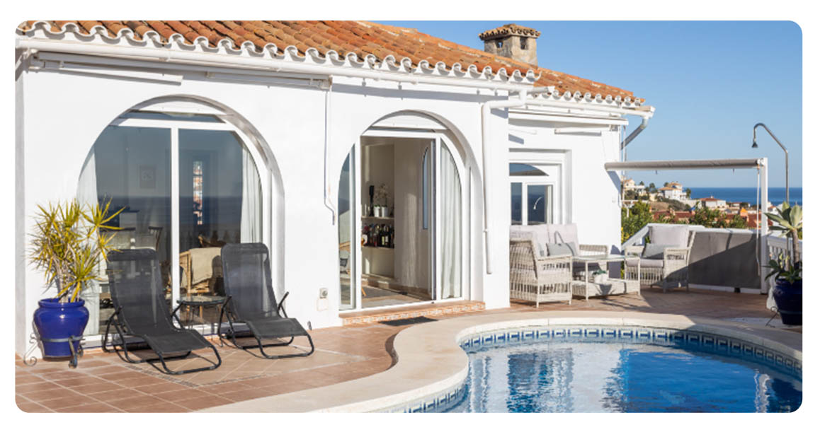 acheter maison fuengirola vue mer terrasse