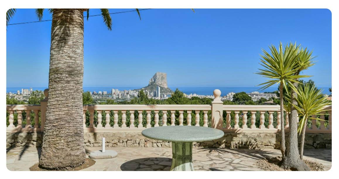 acheter maison grande calpe vue mer terrasse 2
