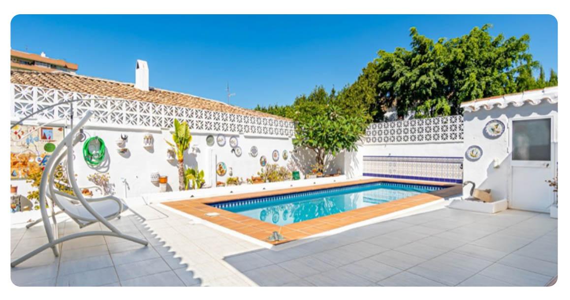 acheter maison jolie fuengirola centre piscine