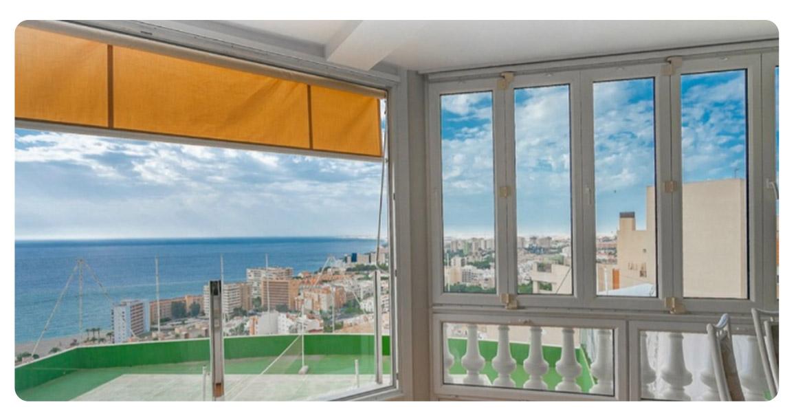 acheter maison magnifique roquetas de mar el puerto salon vue
