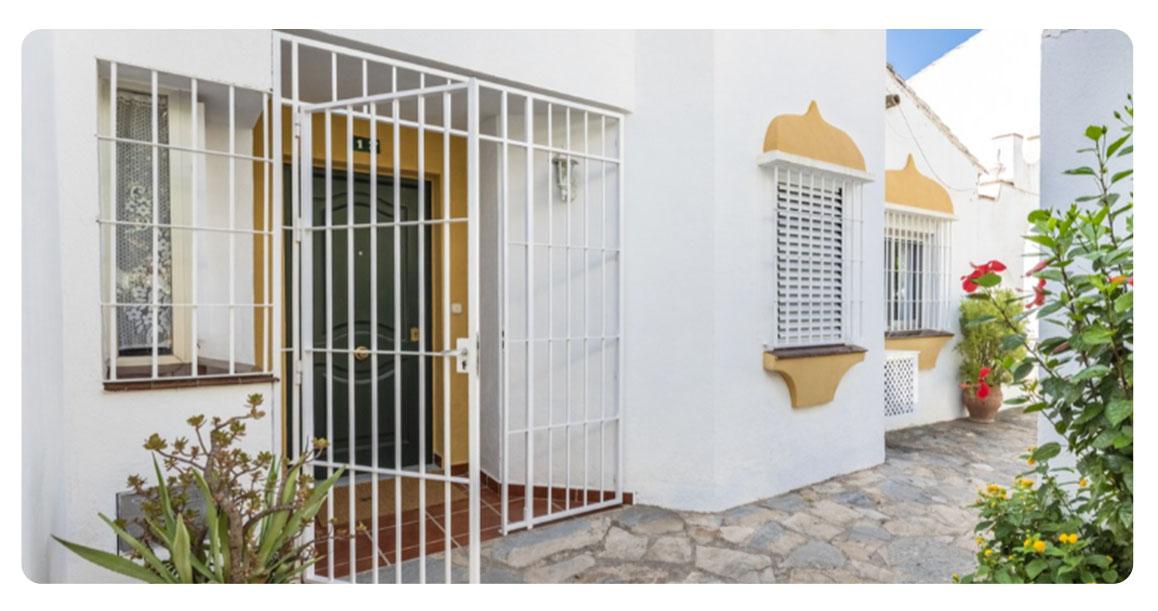 acheter maison mitoyenne fuengirola entree