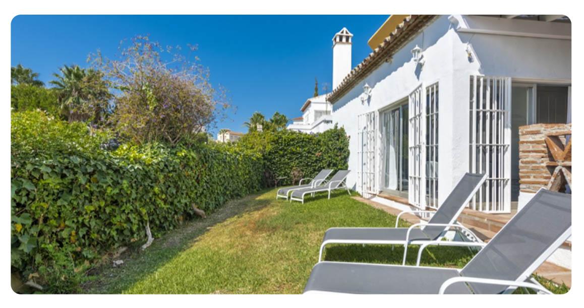 acheter maison mitoyenne fuengirola jardin