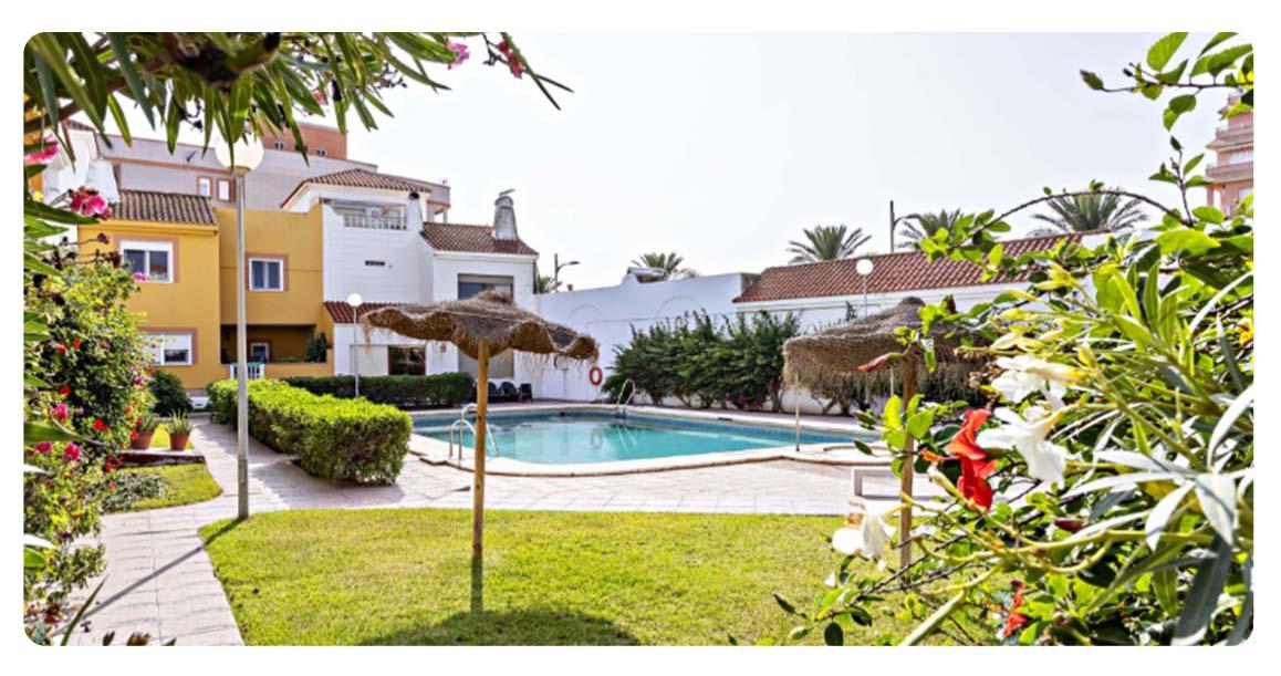 acheter maison mitoyenne roquetas de mar las marinas piscine