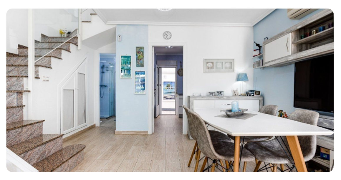 acheter maison mitoyenne torrevieja salon