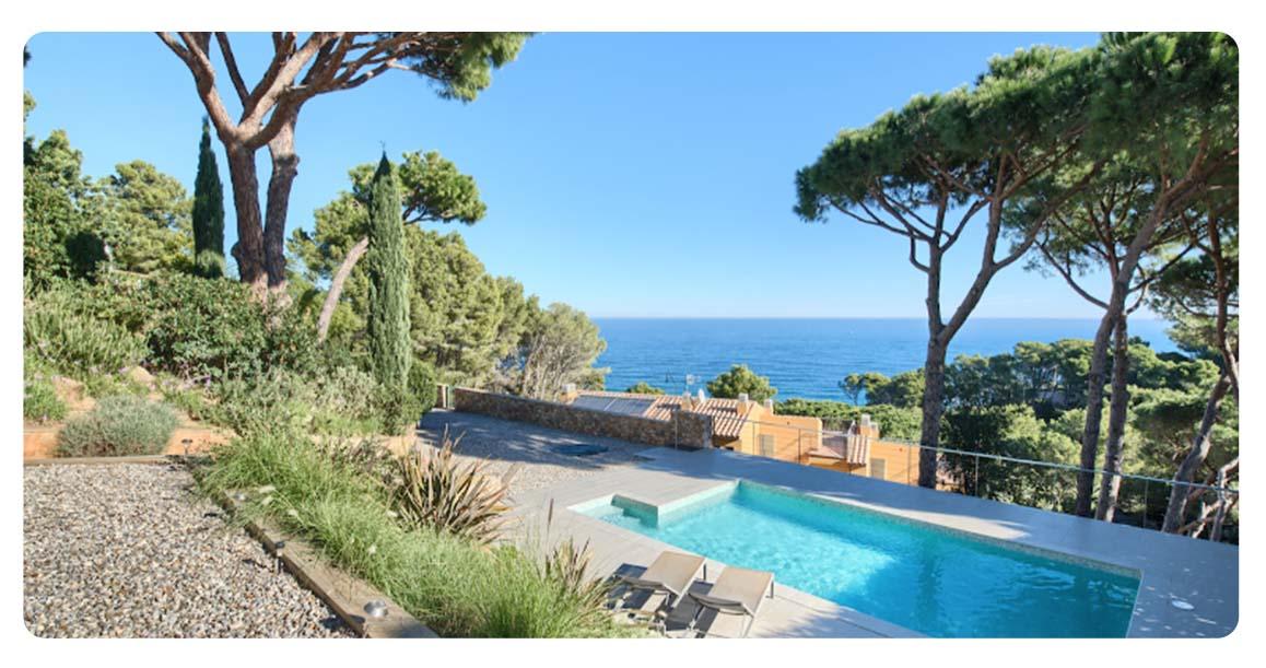 acheter maison villa begur sa fontanasa piscine vue