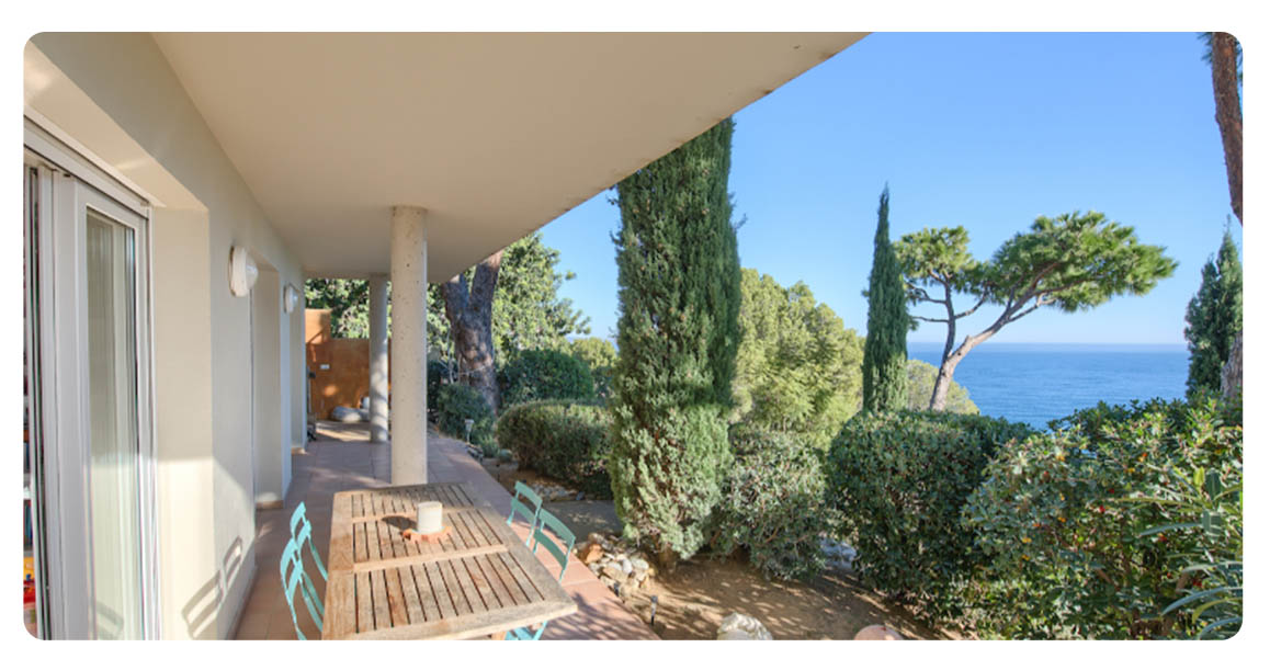 acheter maison villa begur sa fontanasa terrasse