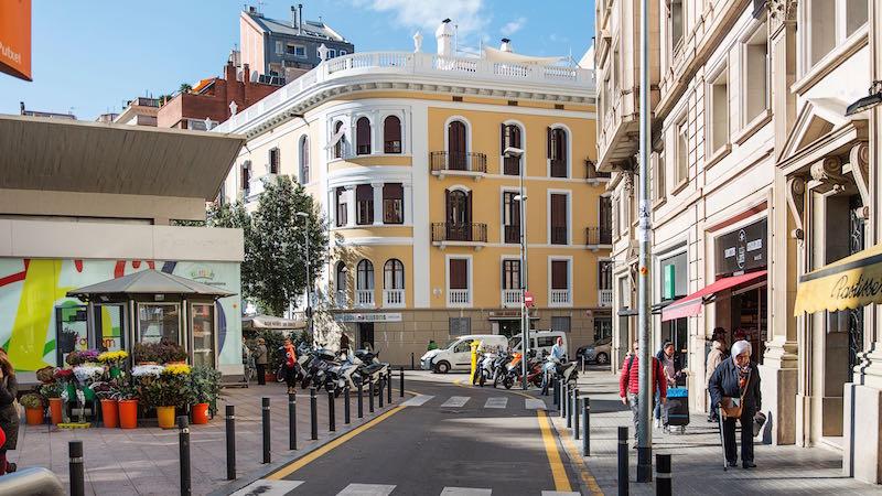 rue passante et commerçante dans le quartierSarrià-Sant Gervasi | Ayuntamiento de Barcelona