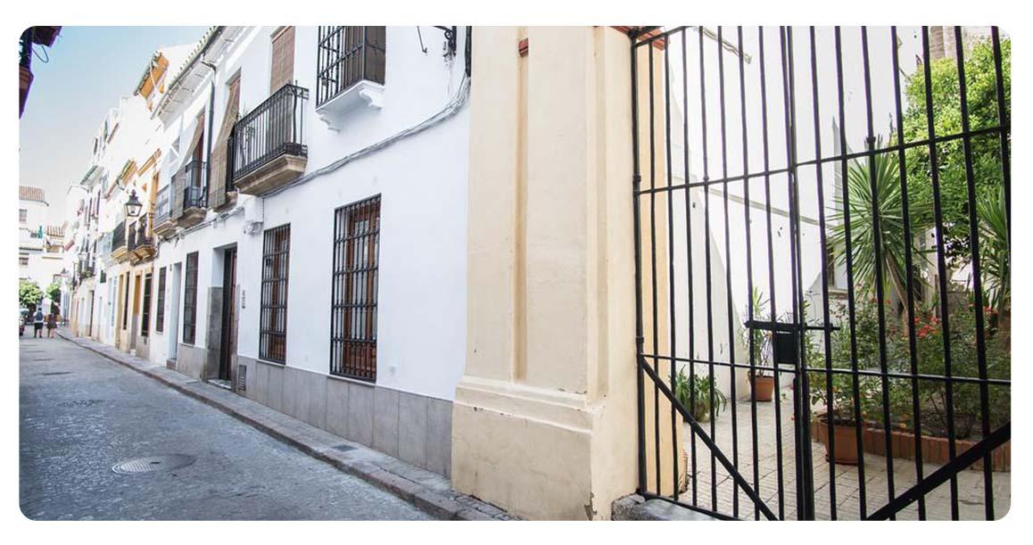 acheter appartement cordoue vieille ville entree