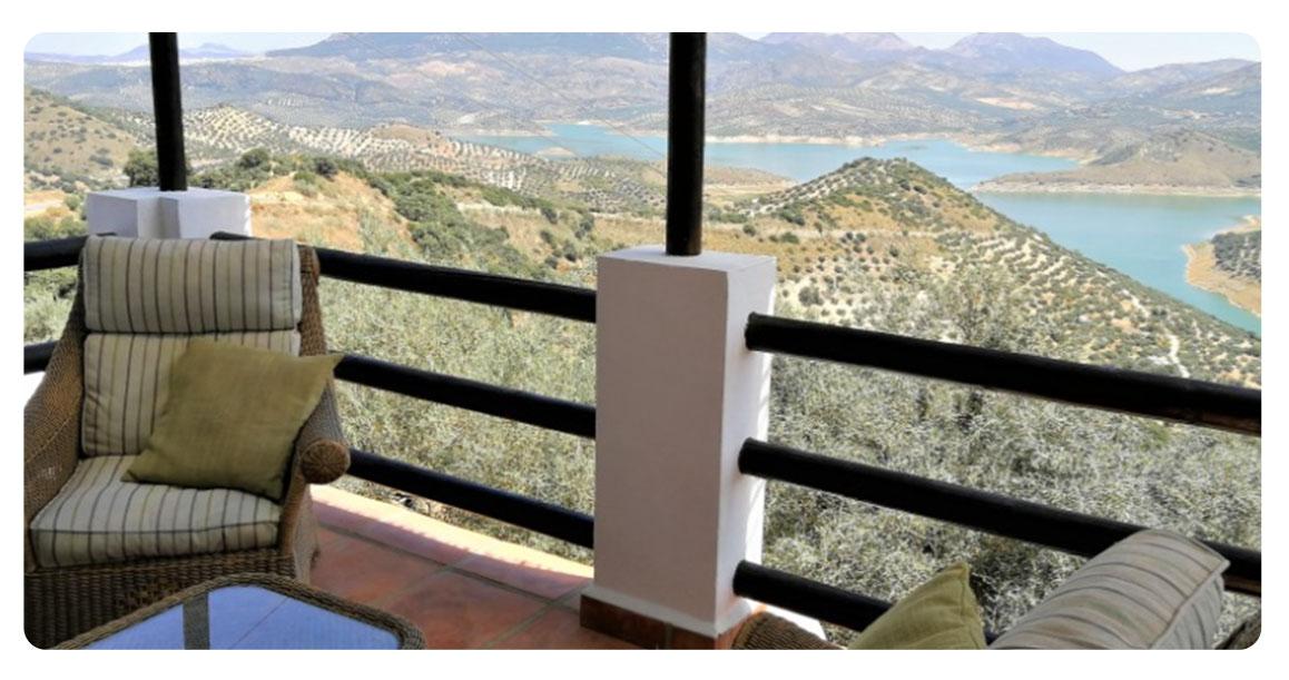 acheter maison cordoue iznajar terrasse vue