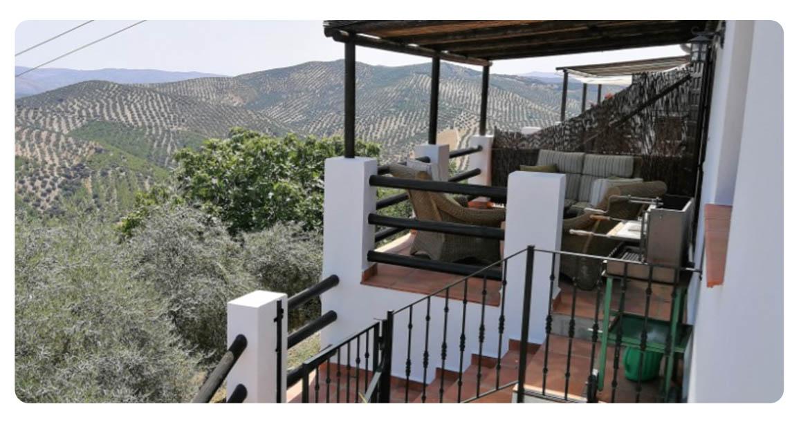 acheter maison cordoue iznajar terrasse