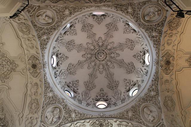 Dome de l'église de Cadiz