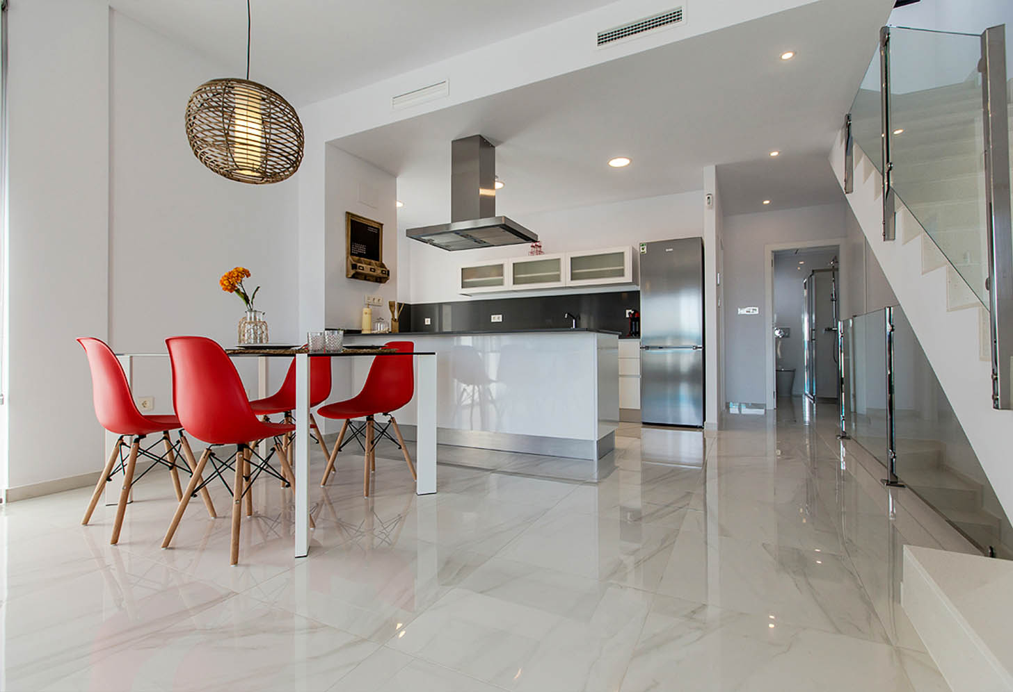 immobilier neuf espagne costa blanca nord on-f2 benijofar villas cuisine