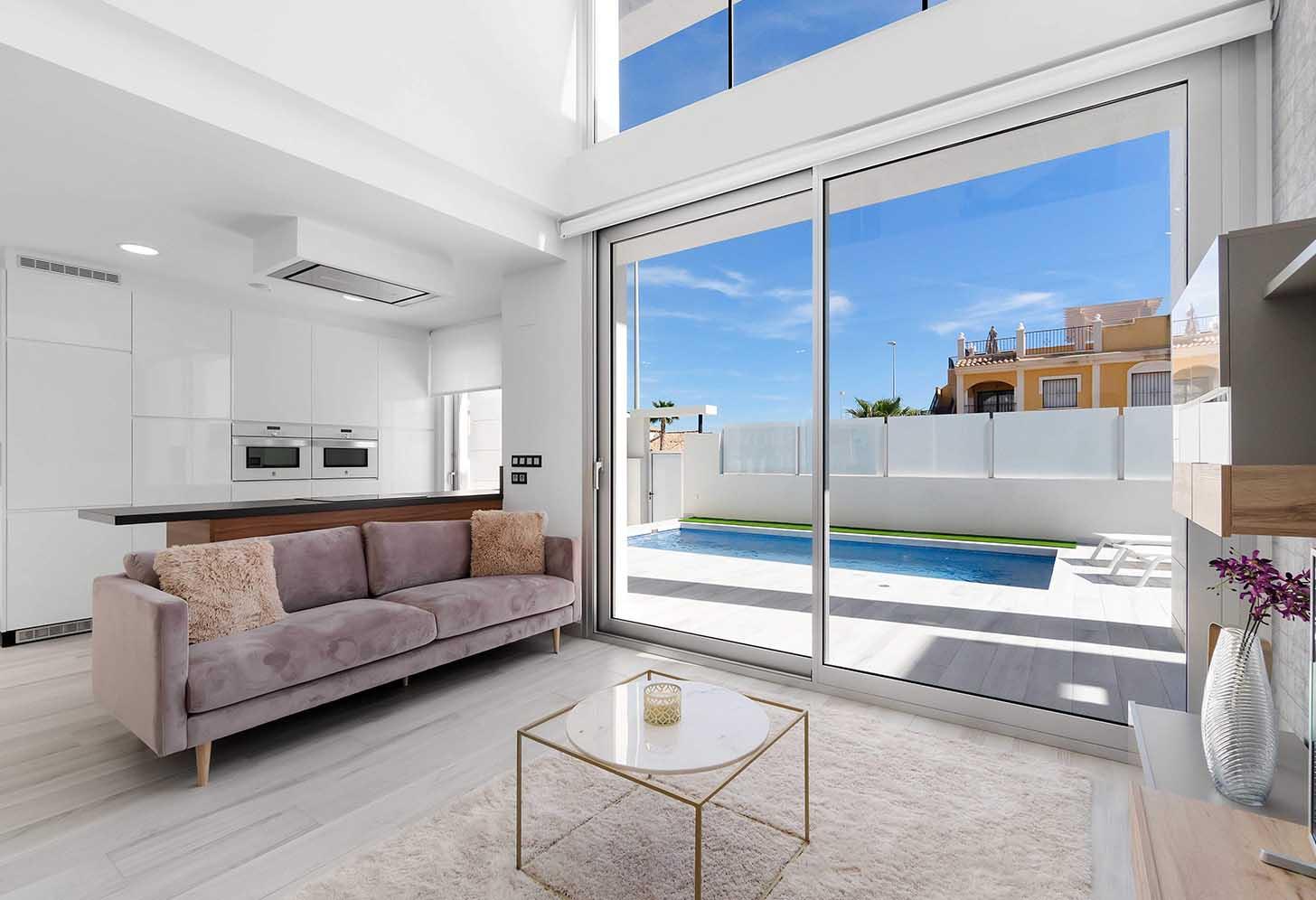 immobilier neuf espagne costa blanca on-c3 palm beach III salon