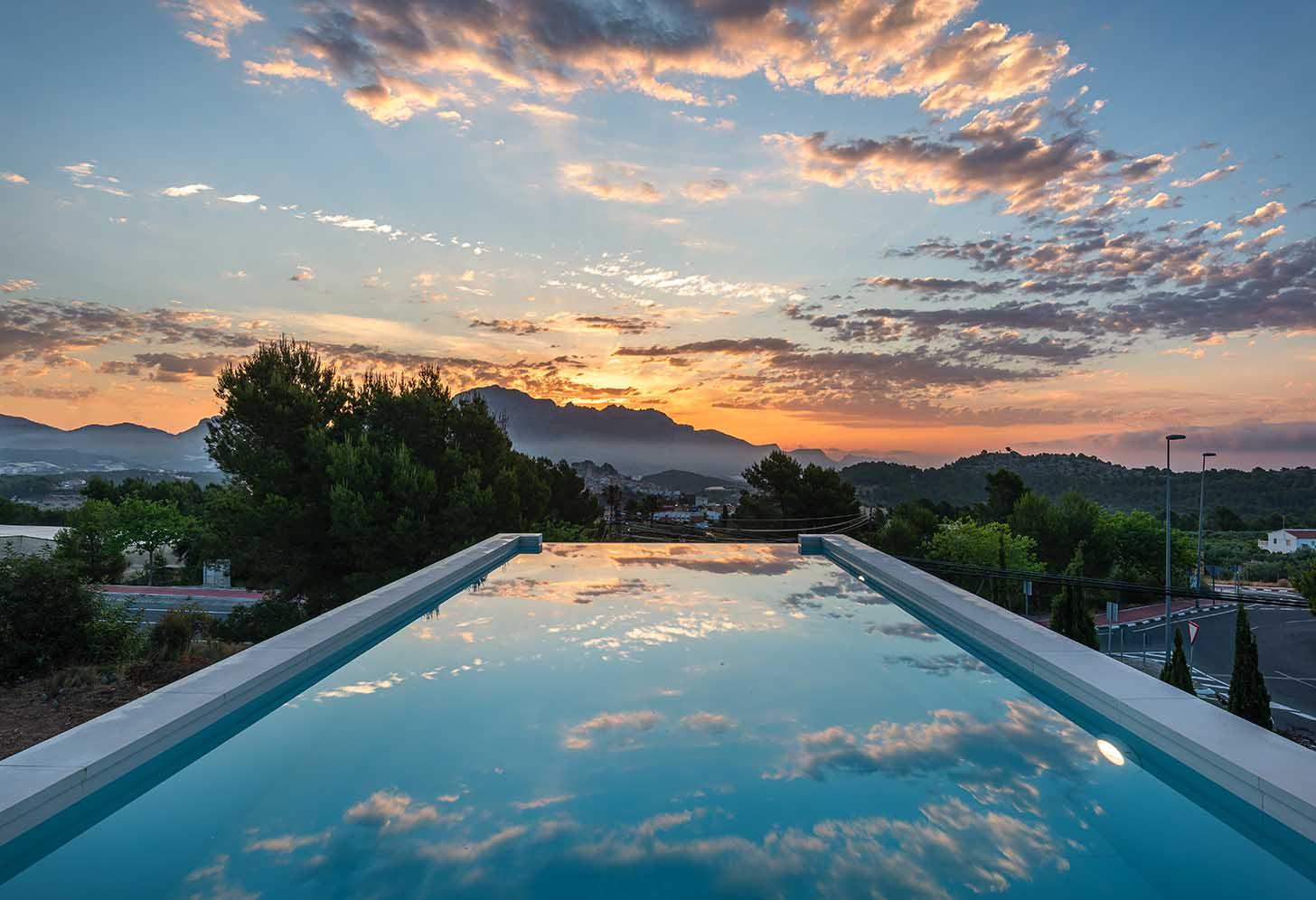 immobilier neuf espagne costa blanca alicante polop piscine