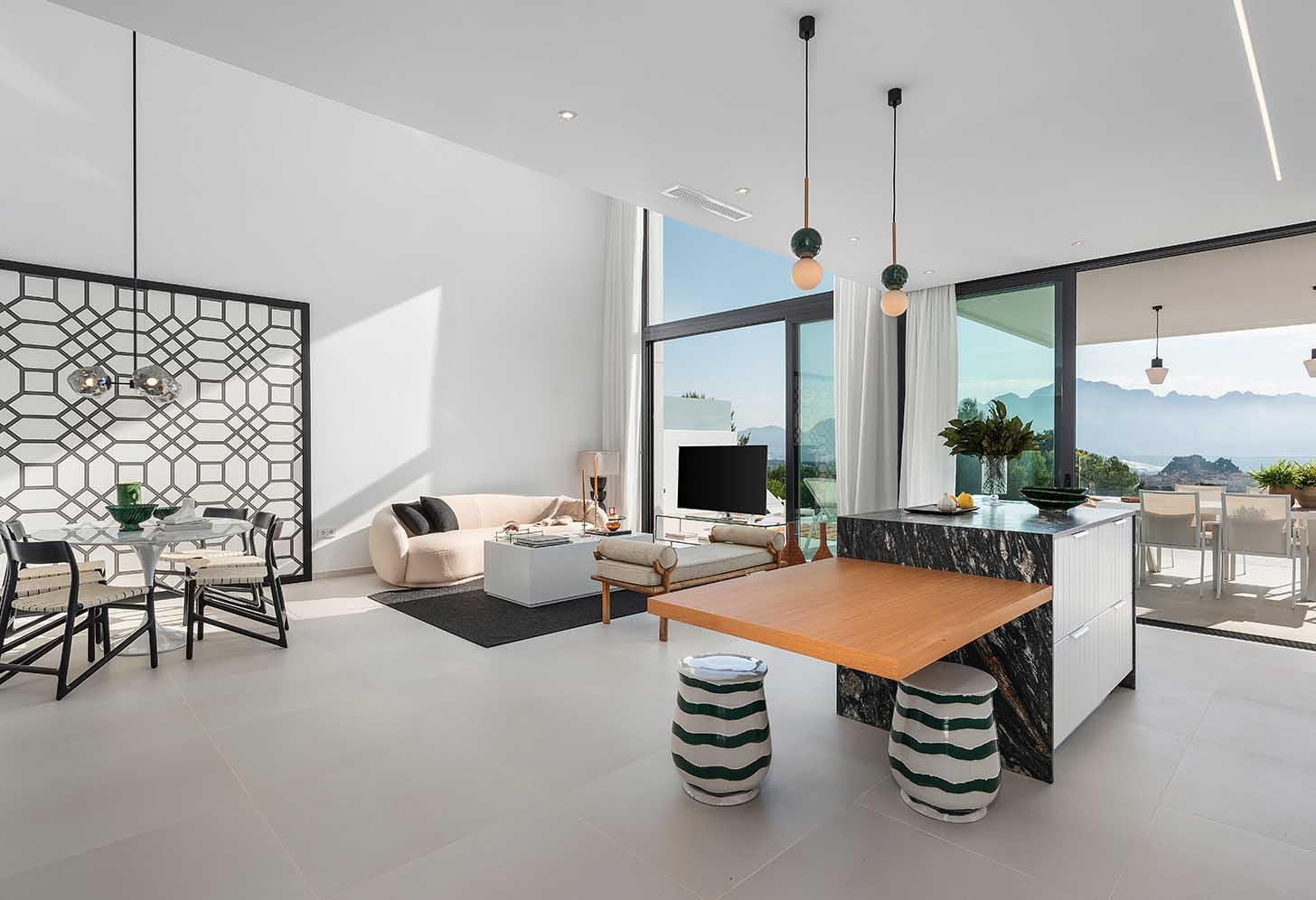 immobilier neuf espagne costa blanca alicante polop salon
