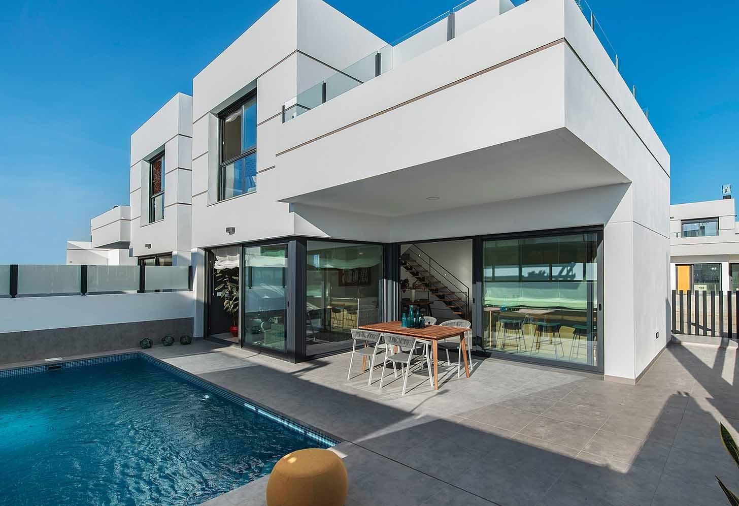 immobilier neuf espagne costa blanca sur alicante dolores piscine