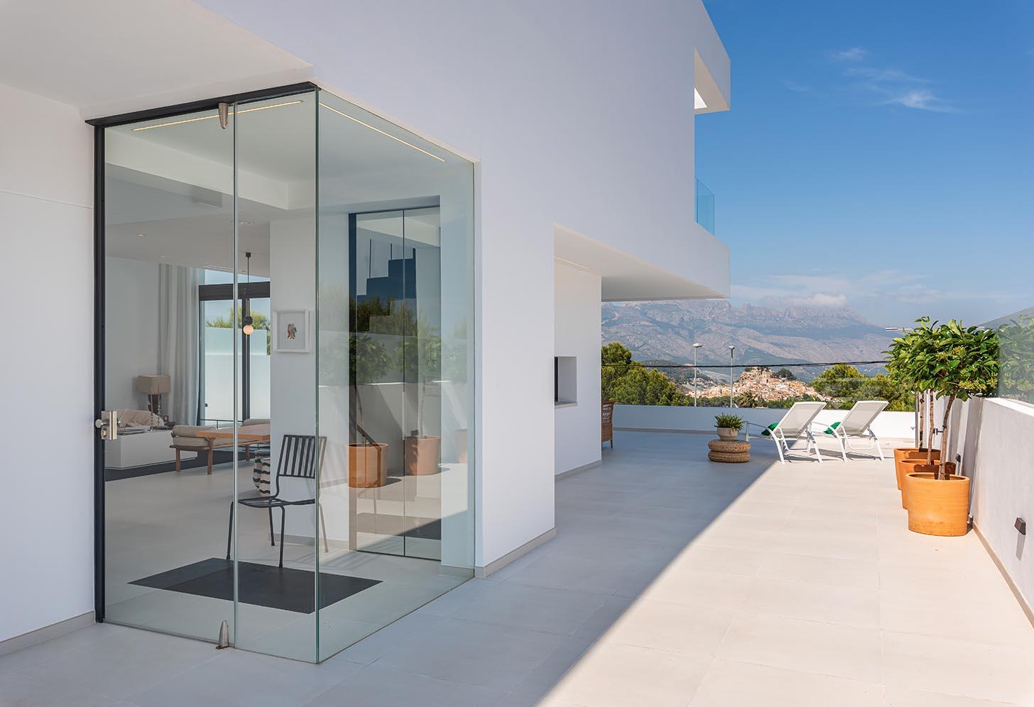 immobilier neuf espagne costa blanca alicante polop terrase