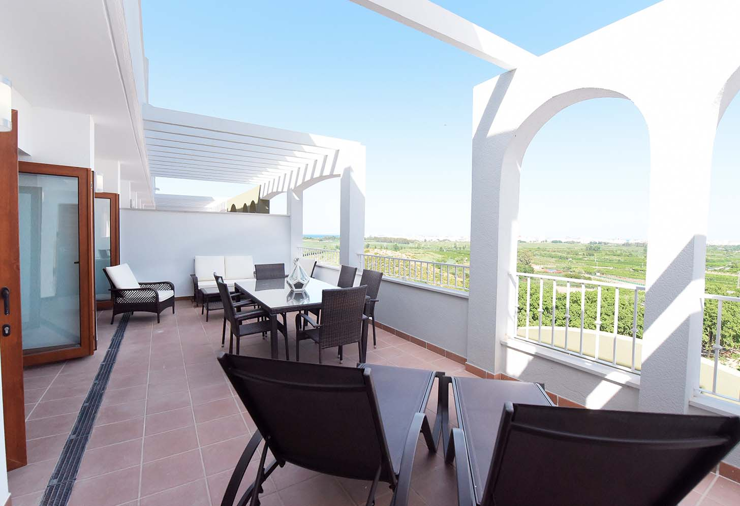 immobilier neuf espagne valencia xeresa del monte terrasse