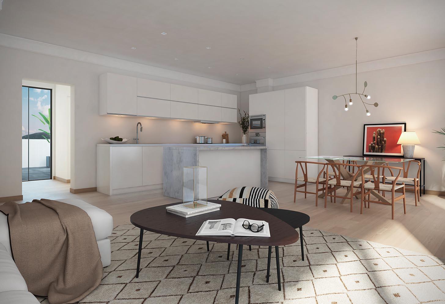logement neuf salon costa del sol espagne