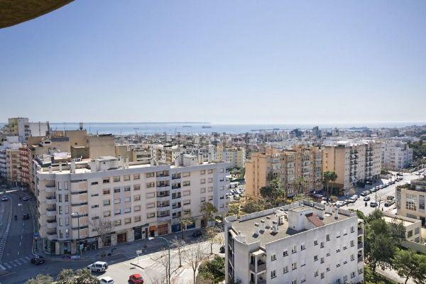 vue sur des immeubles à Palma de Majorque