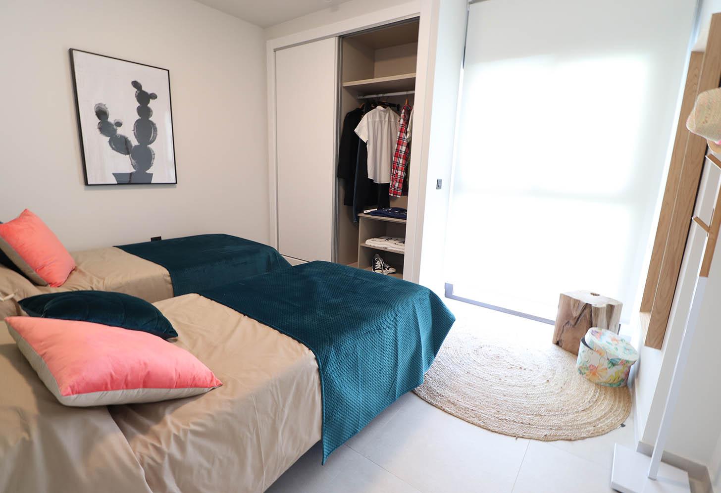 Deuxième chambre de l'appartement à Campoamor