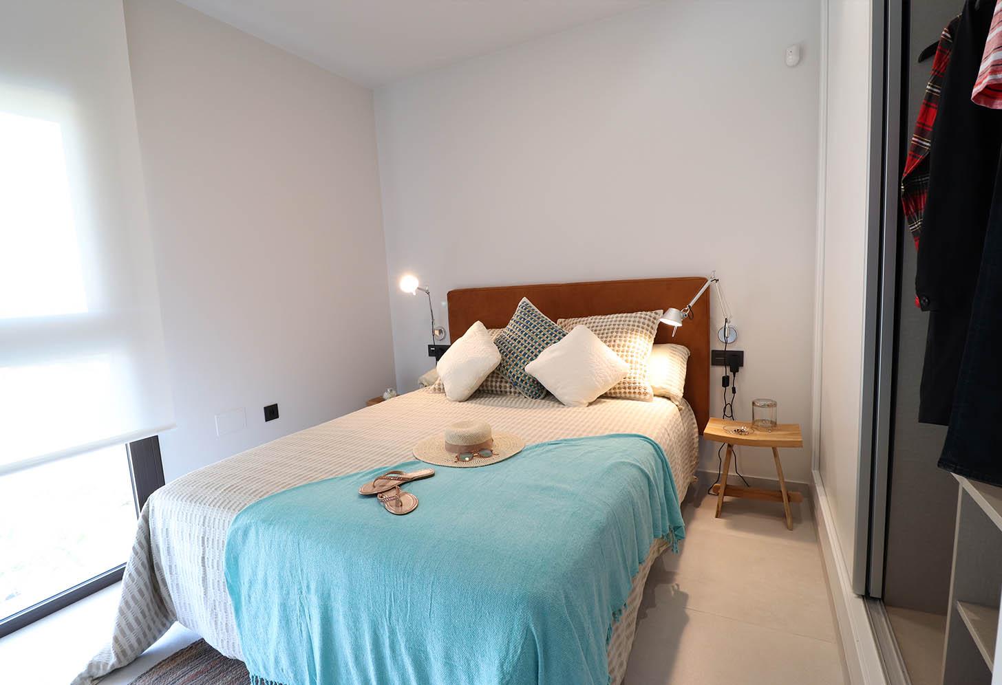 Chambre de l'appartement à Campoamor